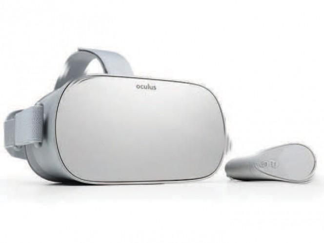 Anuncian Oculus Go: VR a precio reducido y sin necesidad de un teléfono