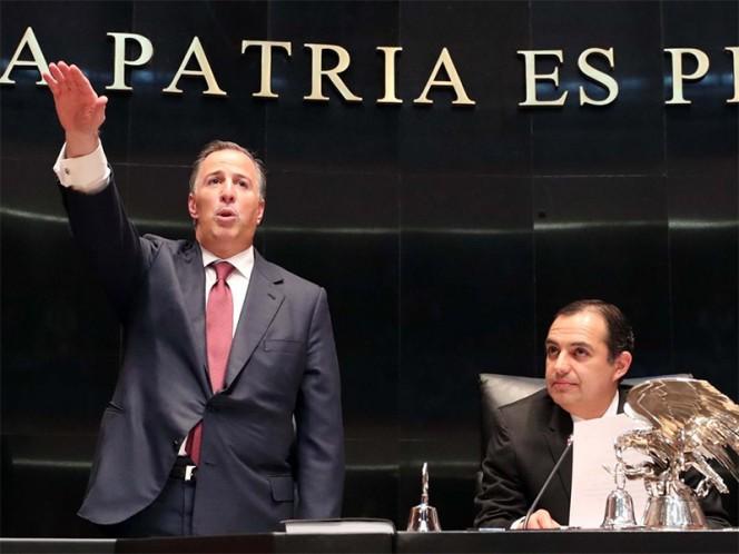 En 2012 voté por Peña Nieto, reconoce Meade ante senadores