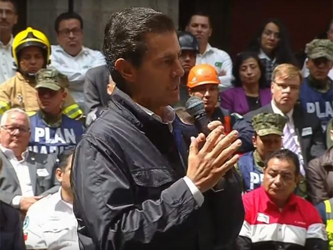 Amor por México, la pasión de todos los mexicanos: Peña Nieto