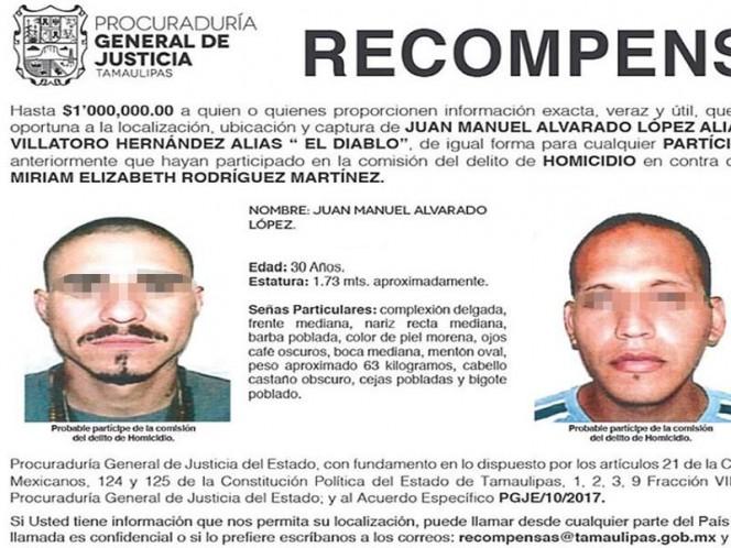 Abaten a 'El Alushe', presunto homicida de la activista Miriam Rodríguez
