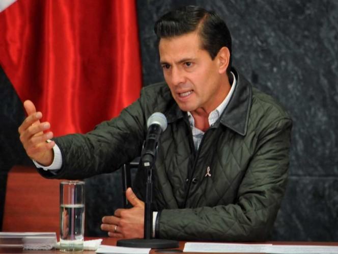 Lamenta EPN muerte de Roberto Plasencia, propietario de Grupo Flexi