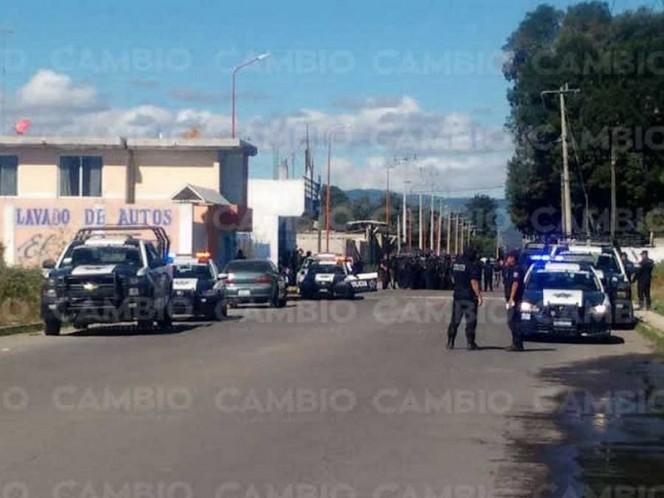 Huachicoleros retienen a agentes federales en San Martín Texmelucan — Enfrentamiento