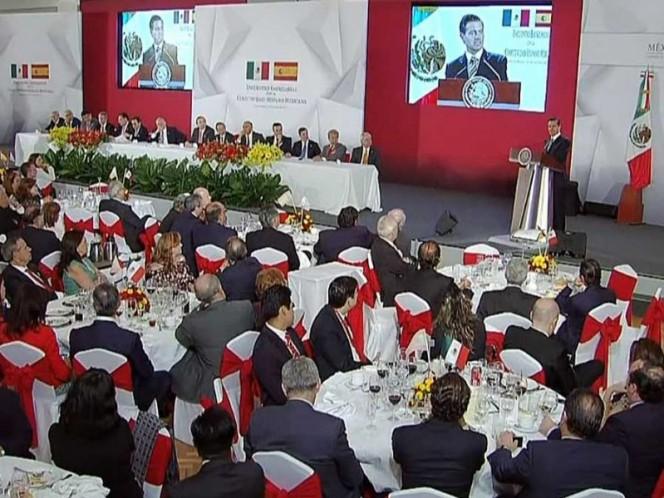 Destaca Peña Nieto mejores oportunidades con Pacto por México
