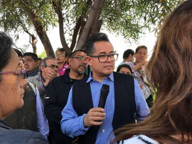 Grietas en Tláhuac están siendo estudiadas: Leonel Luna