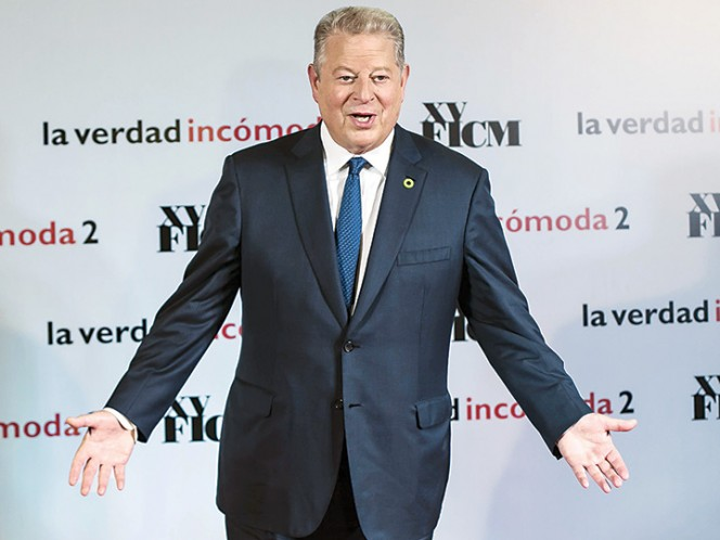 Consciente Al Gore de cambio climático