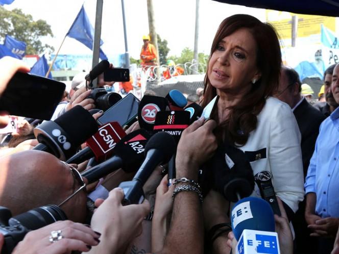 Cristina, sobre la detención: