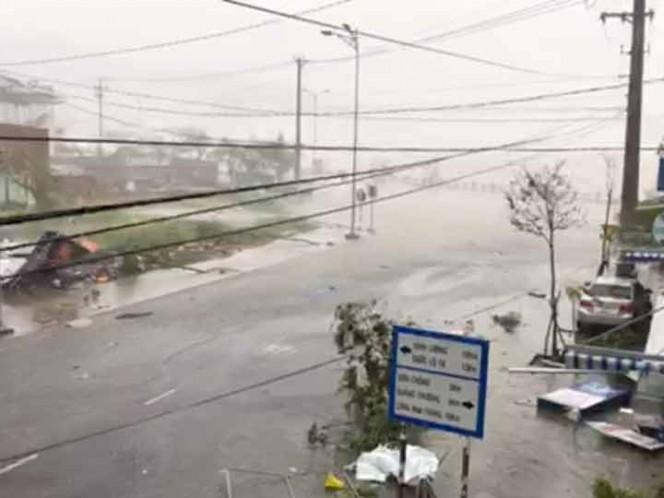 Tifón deja 15 muertos, 4 desaparecidos en Vietnam