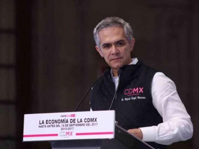 Es marginal el presupuesto 2018 para la CDMX: Mancera