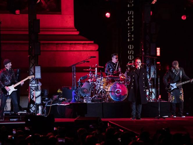 U2 se lleva el premio Icono Goobal en los MTV EMAs