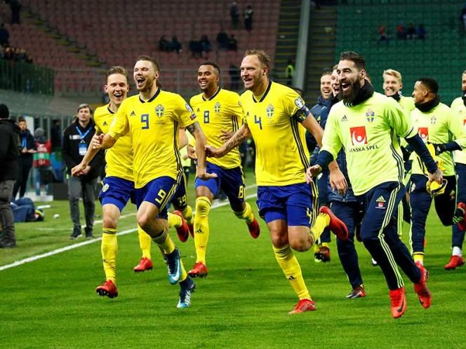 Héroes vikingos. Suecia se perdió dos ediciones de la Copa del Mundo: Sudáfrica 2010 y Brasil 2014. Volverá en Rusia 2018 (Fotos: Reuters)