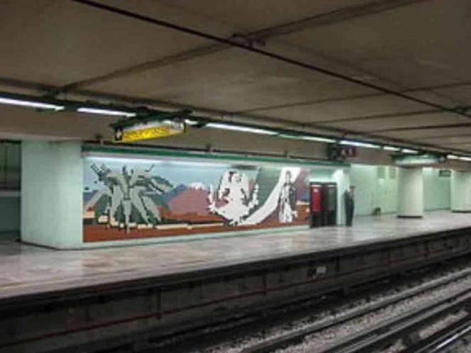 Alumna de FES Aragón empuja a compañero a las vías del Metro