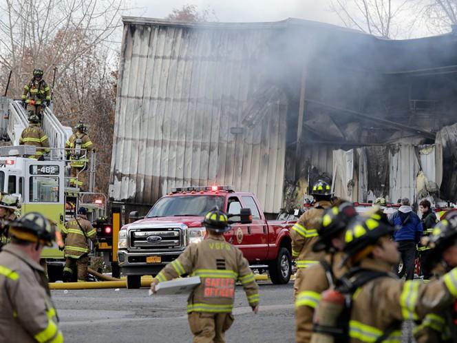 Al menos 33 heridos tras explosión de planta en New Windsor