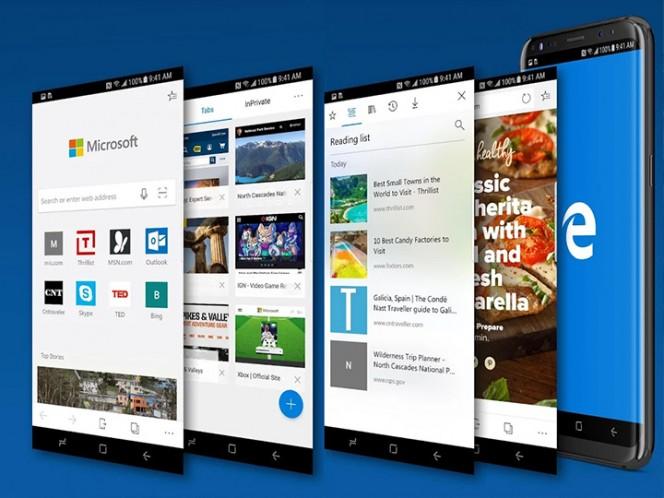 Microsoft Edge ya está disponible de manera pública para iOS y Android