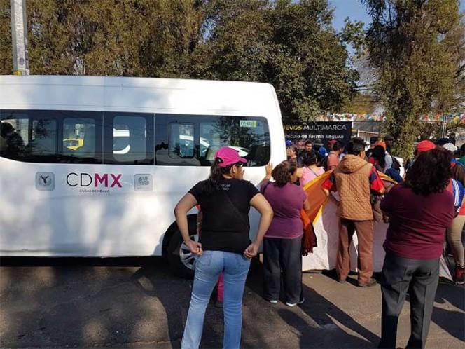 La protesta vecinal en contra de una gasera en Xochimilco devino en un enfrentamiento y en la detención de siete personas, entre ellas una mujer embarazada.