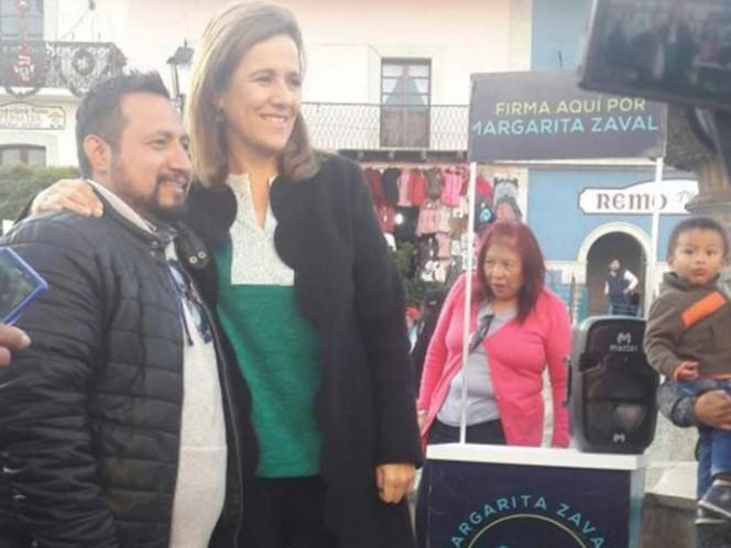 Margarita Zavala se burla del Frente Ciudadano