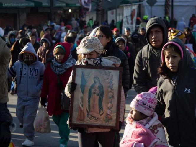 Cruzan peregrinos la entidad rumbo a la Basílica de Guadalupe