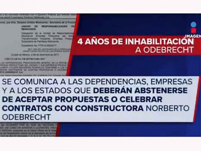 Función Pública inhabilita durante 4 años a la empresa Odebrecht