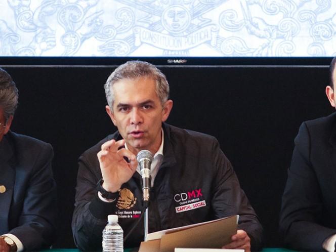Estima Mancera que entre Frente y Morena se definirá jefatura de CDMX