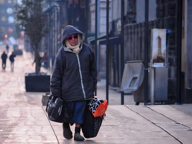 Alertan por bajas temperaturas en 11 delegaciones de la Ciudad de México