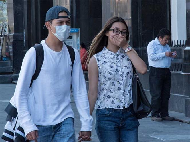 Hay mala calidad del aire en algunas zonas del Valle de México
