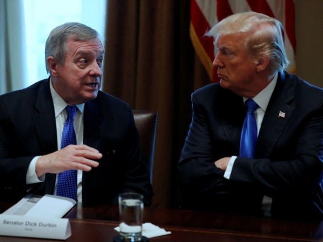 Senador demócrata confirma expresiones ofensivas de Trump