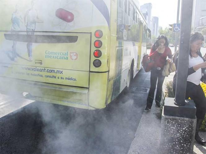 Continua mala calidad del aire en el norte del Valle de México