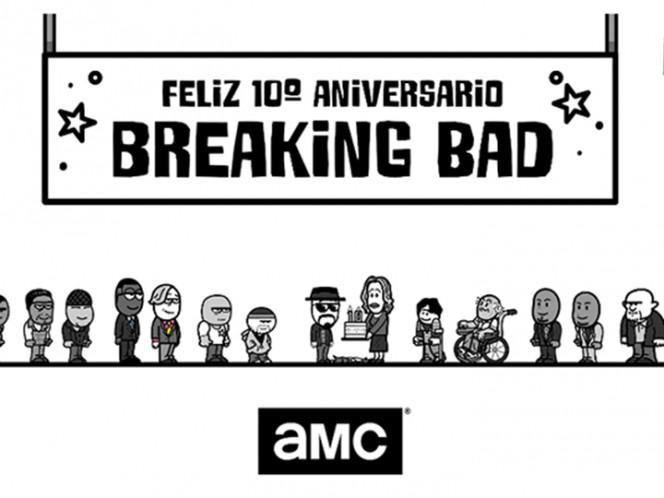 Breaking Bad celebra diez años desde su estreno con importante inauguración