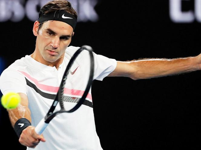 Roger Federer no ha cedido ningún set en su camino en Australia (Reuters)