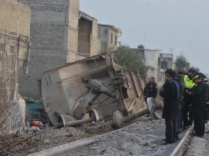 #LoMásLeído Se descarrila tren en Ecatepec; 5 muertos