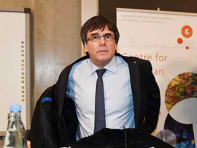 Juez rechaza petición para arrestar a Puigdemont en Dinamarca