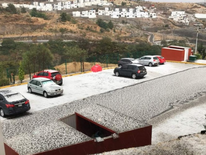 Activan alerta amarilla por lluvia y granizo en 4 delegaciones
