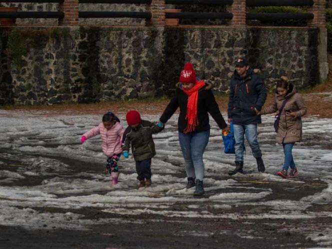 Bajo alerta naranja 5 delegaciones ante posible caída de agua nieve