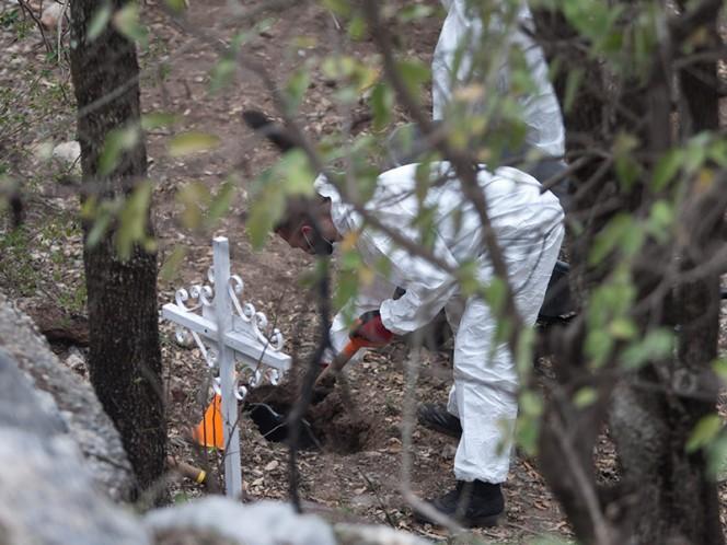 Van 342 fosas clandestinas encontradas en Veracruz