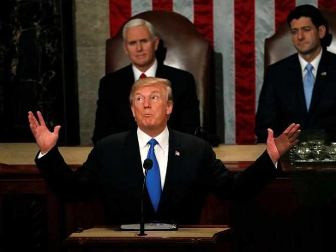 Trump defiende logros y define prioridades en discurso ante el Congreso