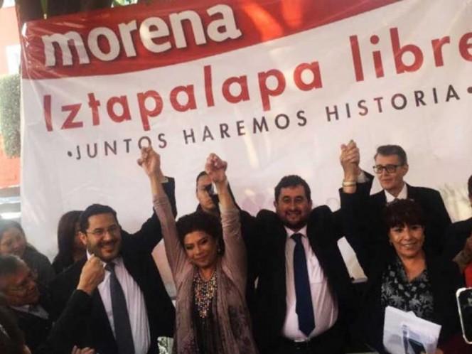 Aspirantes de Morena a alcaldías de la CDMX se registran