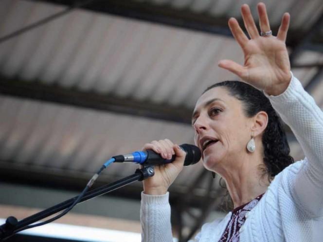 Alejandra Barrales realiza tres cierres de campaña en la CDMX