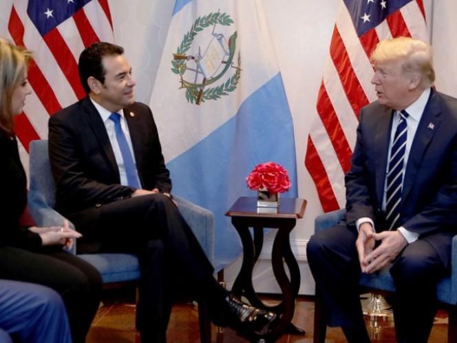 EEUU y Guatemala acordaron trabajar juntos para