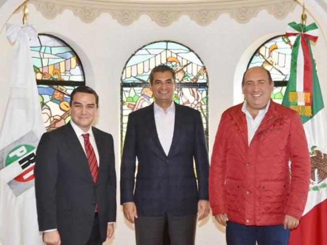De estratega electoral a secretario del PRI, Moreira firme en el Tricolor