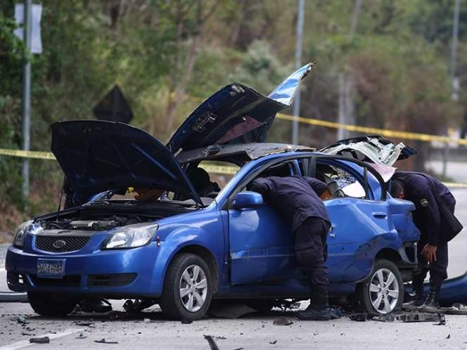 Explotó un coche bomba en El Salvador, lesionando a dos policías