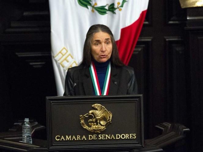 |a bióloga mexicana Julia Carabias Lillo fue reconocida con la medalla Belisario Domínguez, en 2017.