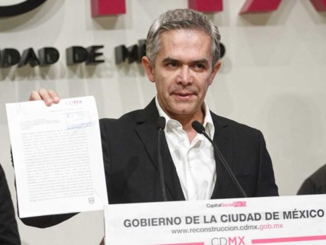Renuncia otro integrante de la Comisión de Reconstrucción de la CDMX