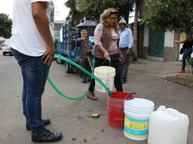 Suministro de agua se normalizará este miércoles en la capital: Sacmex
