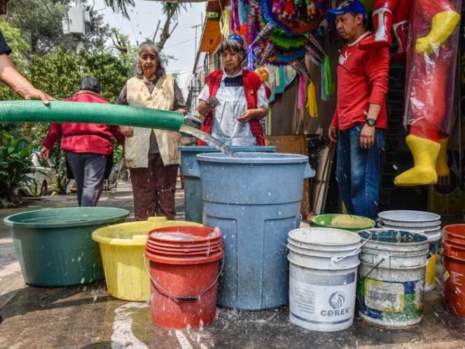 Gobierno de CDMX garantiza suministro total de agua potable en esta semana