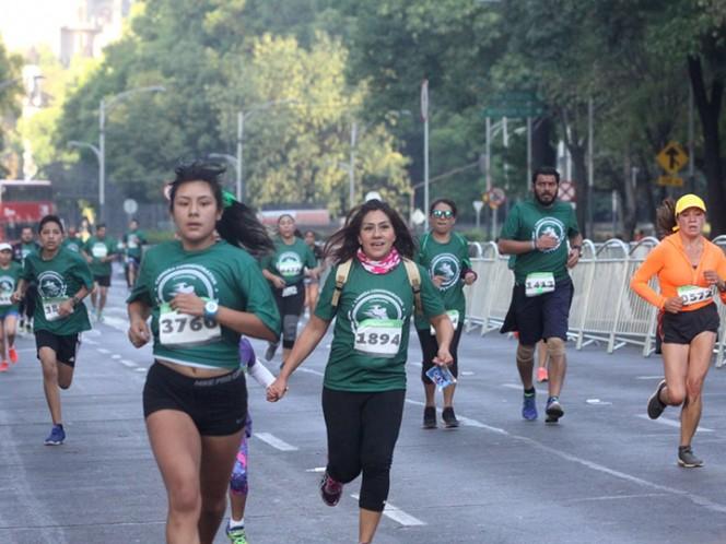 Todo un éxito la carrera del IMSS en Nuevo León