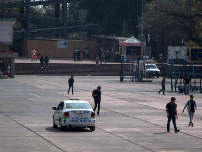 Suman 42 detenidos en las inmediaciones de CU