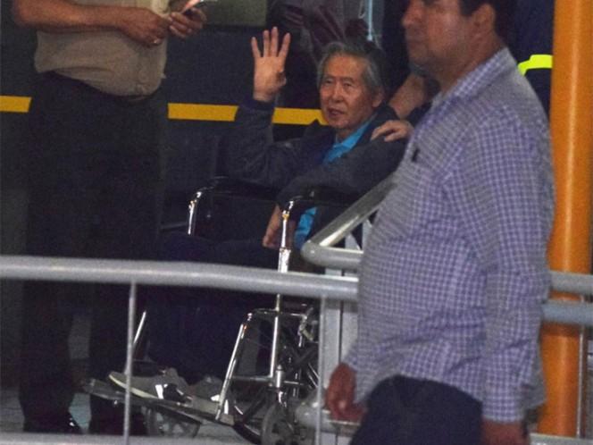 El expresidente peruano Alberto Fujimori es hospitalizado por una infección intestinal