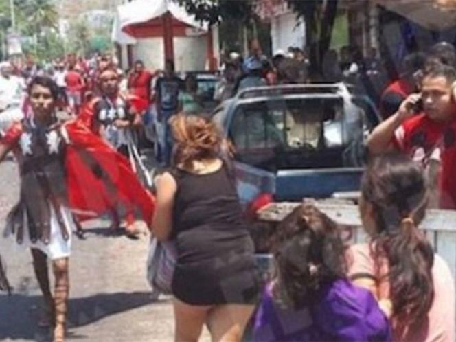 Tras balacera suspenden Viacrucis de Acapulco; reportan dos muertos