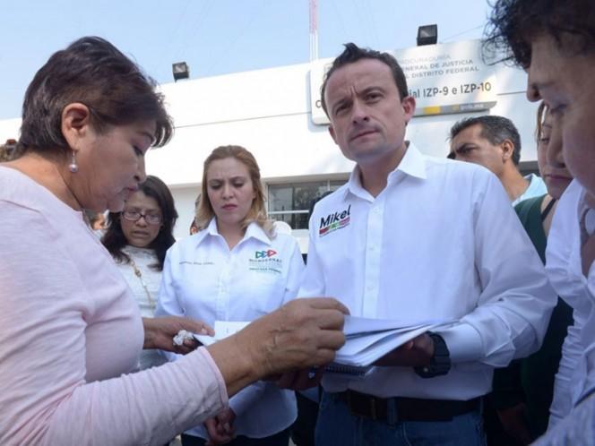 Responde Barrales a acusaciones de Mikel Arriola