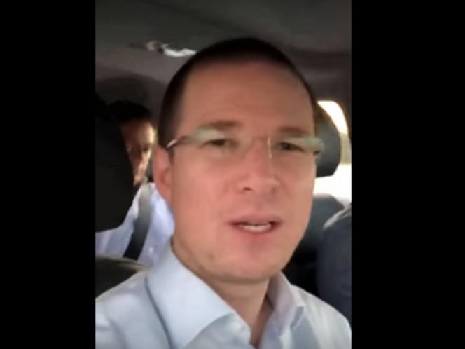 Estudiantes interrumpen discurso de Ricardo Anaya en el ITESO