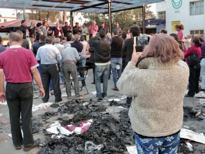 Sheinbaum suspende acto de campaña en Coyoacán